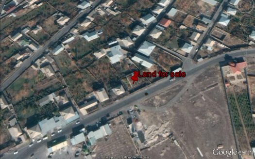 830 sq. m residential land in Yeghvard