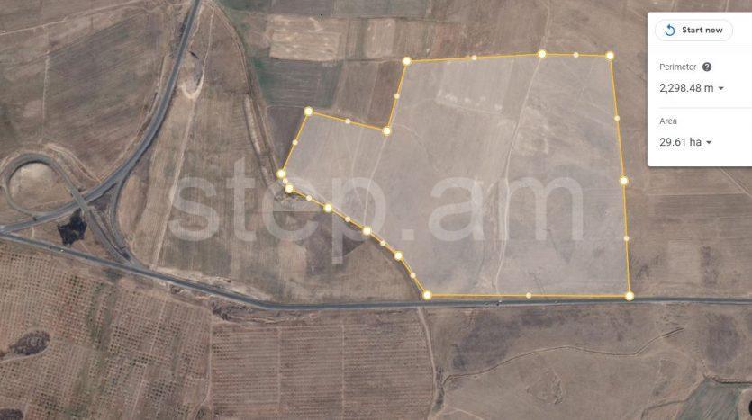 30 ha agricultural land in Yeghvard